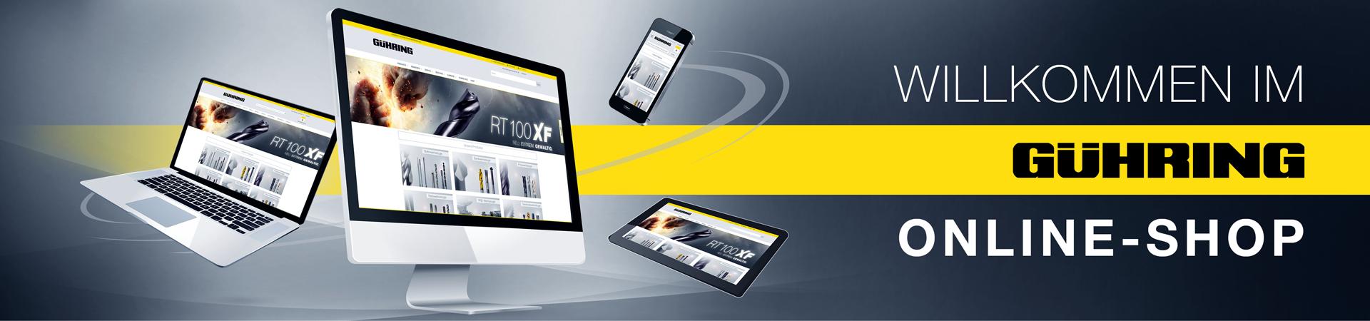 Willkommen im Gühring Online-Shop