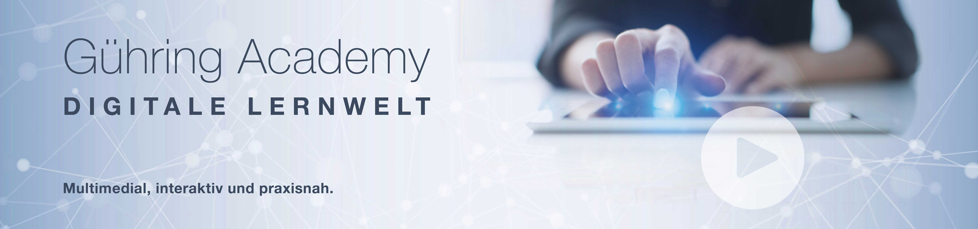 Gühring Academy - Digitale Lernwelt